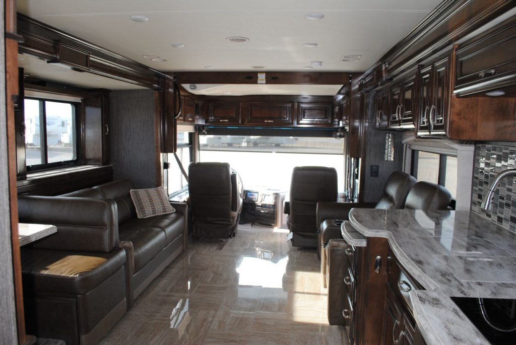 RV Interior from back