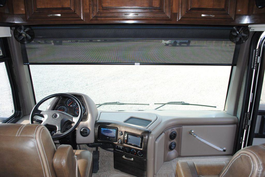 Windshield Interior view