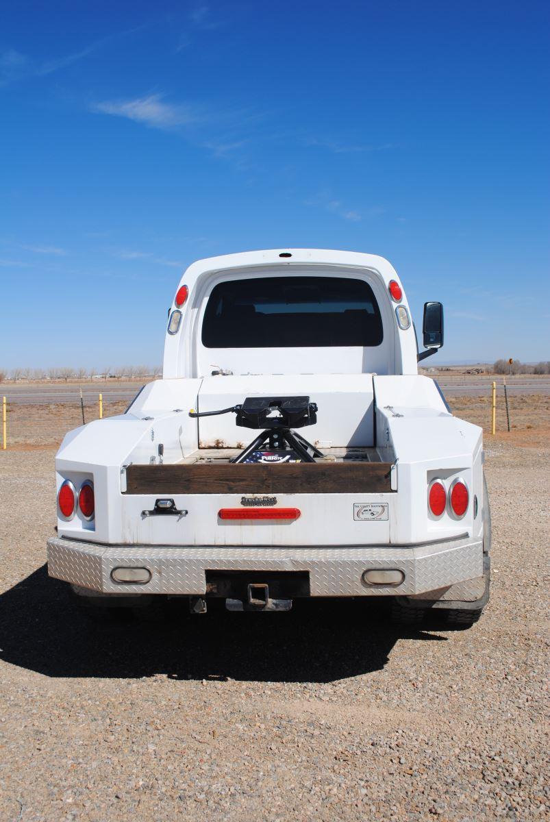 External rear view of truck