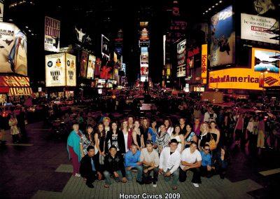 Group photo Honor Civics 2009